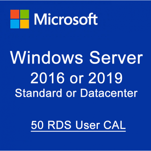 Microsoft Windows Server 50 RDS User CAL